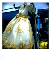 Communion Dress, Berkeley CA, Spring 2014.