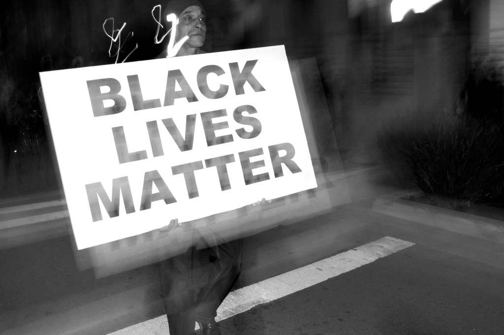 Untitled (Black Lives Matter Series), Oakland CA, Winter 2014.