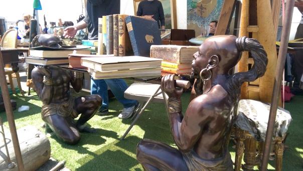 Bronze Slave Labor, Alameda CA, Spring 2015.