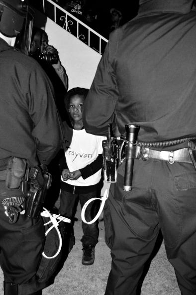 I'm Trayvan (Black Lives Matter Series), Oakland CA, Winter 2014.