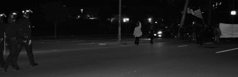 Untitled (Black Lives Matter Series), Oakland CA, Winter 2014.