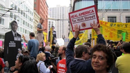 Heal America (The Great Collapse Protest Series) San Francisco CA, Fall 2011.