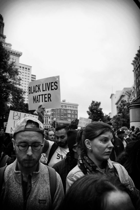 Untitled (Black Lives Matters Series), Oakland CA, Summer 2016.