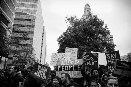 All Power to the People (Black Lives Matters Series), Oakland CA, Summer 2016.