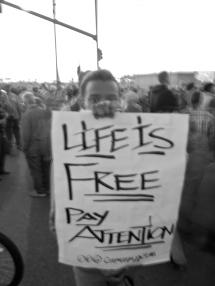 Untitled (Oakland General Strike), Port of Oakland, Fall 2011.