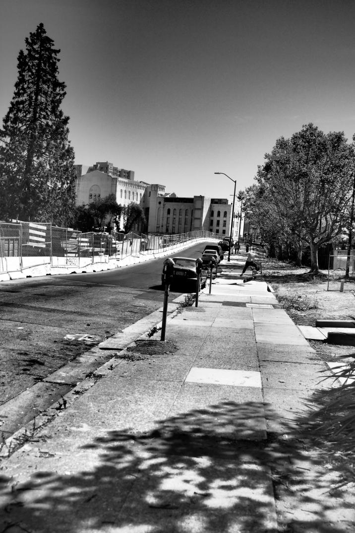 Kick Flip, Oakland CA, Summer 2016.