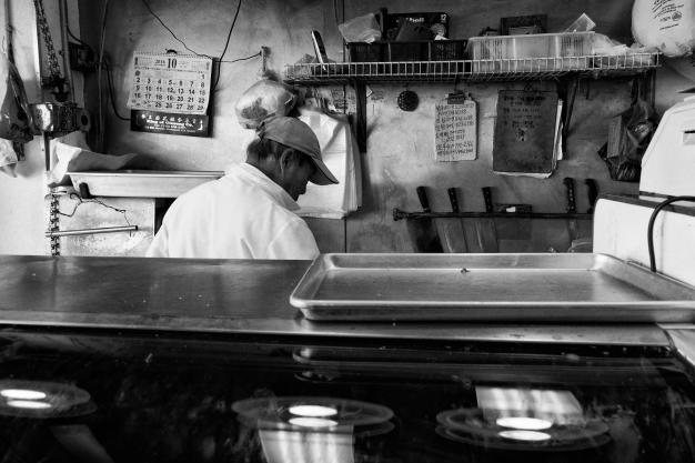 Butcher's Domain (Chinatown Hustle Series), Oakland CA, Fall 2016.
