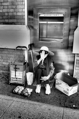 Chinatown Pop-up Grocer (Chinatown Hustle Series), Oakland CA, Fall 2016.