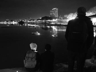 Untitled (Oakland de luto set), Oakland CA, Winter 2016.